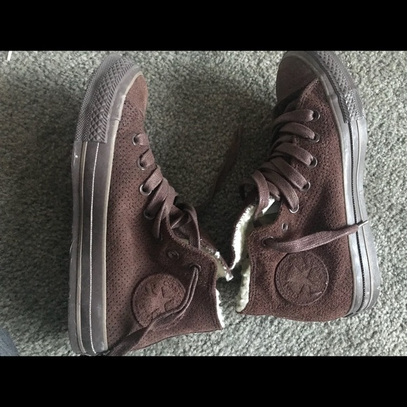 Converse Shoes | Rare Suede With Wool